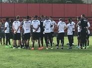 Ceará realiza treino apronto e finaliza preparação para duelo contra o Oeste