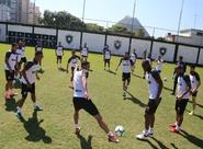 FLAxCSC: Última atividade antes do confronto aconteceu no CT do Botafogo