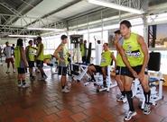 Time já treinou em Curitiba/PR