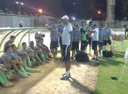 Elenco Sub-20 do Ceará participa de treino no Estádio Domingão