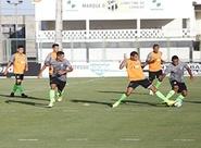 Preparação para o jogo contra o Paysandu