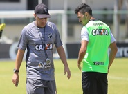 Grupo alvinegro realiza último treino antes de viagem para Londrina