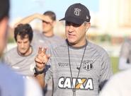 Chamusca fecha último treino antes do confronto diante do Figueirense