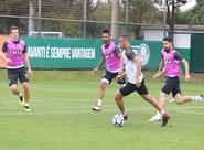 SPFCxCSC: Na manhã deste sábado, 25/08, Lisca comandou treino apronto no CT do Palmeiras