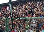 Torcida lotou Estádio Vovozão e grupo encerrou preparação