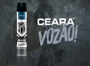 Ceará SC lança o antitranspirante oficial do clube