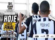 Futsal Adulto: No Ginásio Vozão, Ceará e Eusébio fazem a primeira partida da final do primeiro turno do estadual