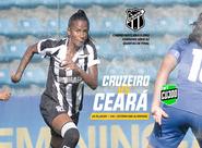 Futebol Feminino: Fora de casa, Ceará enfrenta o Cruzeiro em busca do acesso à elite do futebol nacional