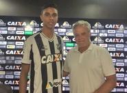 Zagueiro Túlio é apresentado oficialmente em Porangabussu