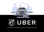 Ceará fecha contrato de patrocínio com a Uber
