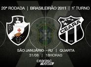 Na estreia do segundo turno, Ceará enfrenta o Vasco, no Rio de Janeiro