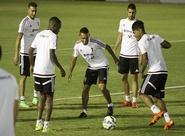 Seleção da Venezuela treinou em Porangabuçu