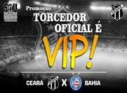 Torcedor Oficial é VIP - Ceará x Bahia - Final do Nordestão 2015