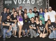 Torcida compareceu em massa, e Vozão Food Park foi um sucesso