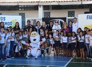 Vozão Solidário: Ceará distribui 3 toneladas de alimentos para projetos sociais