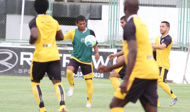 As atividades no estádio Carlos de Alencar Pinto (Vovozão) foram bem movimentadas
