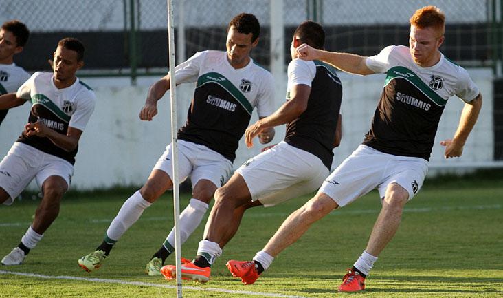 O time se reapresentou e iniciou a preparação para encarar o São Paulo