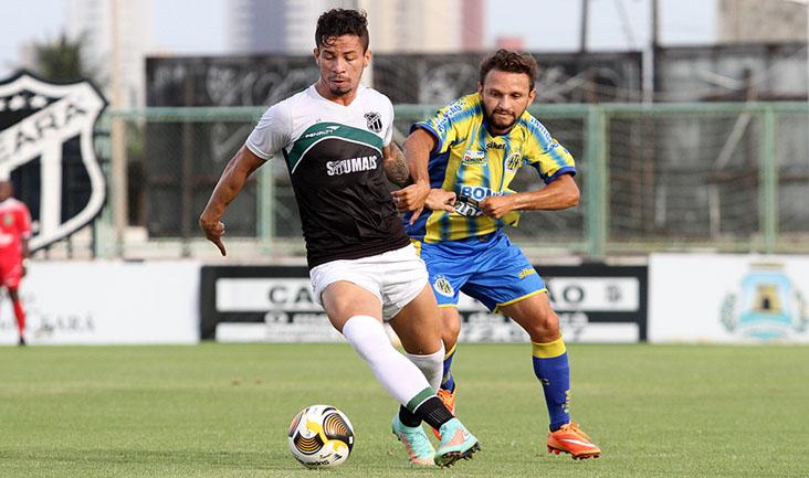 Suspenso, atacante Siloé não jogou ontem e atuou bem diante da equipe do Horizonte