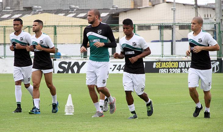 Quem jogou contra o Guarany de Sobral realizou apenas um treino mais leve