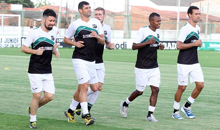 Quem jogou diante do CRB, na última terça-feira, 26/05, realizou apenas um treino físico leve
