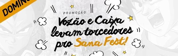 Vozão e Caixa levam torcedores pro Sana Fest 2017 - DOMINGO