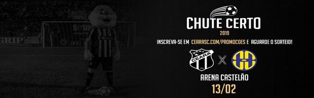 Chute Certo - Ceará x Horizonte - 13/02/2019