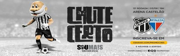 Chute Certo - Ceará x Fortaleza - 03/08/2019