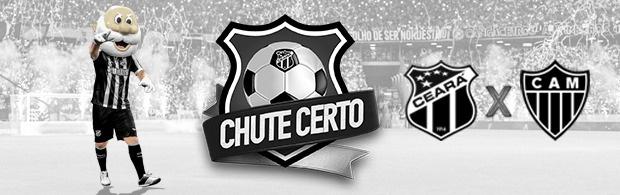 Chute Certo - Ceará x Atlético/MG - 04/05/2019