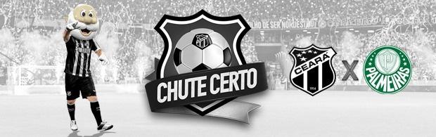 Chute Certo - Ceará x Palmeiras - 20/07/2019