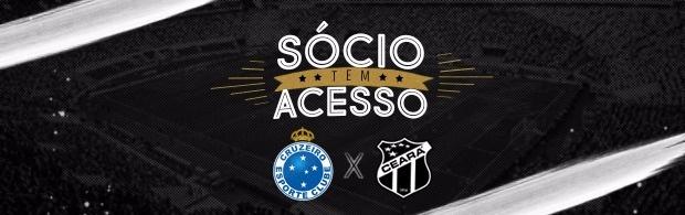 Sócio tem Acesso (Cruzeiro x Ceará)
