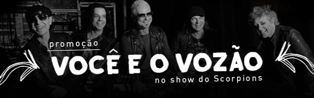 Você e o Vozão no show do Scorpions