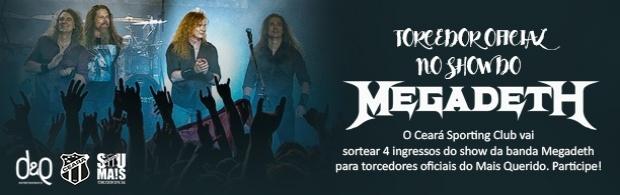 Torcedor Oficial no show do Megadeth